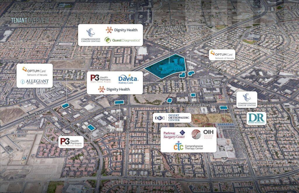 West Henderson tenant map