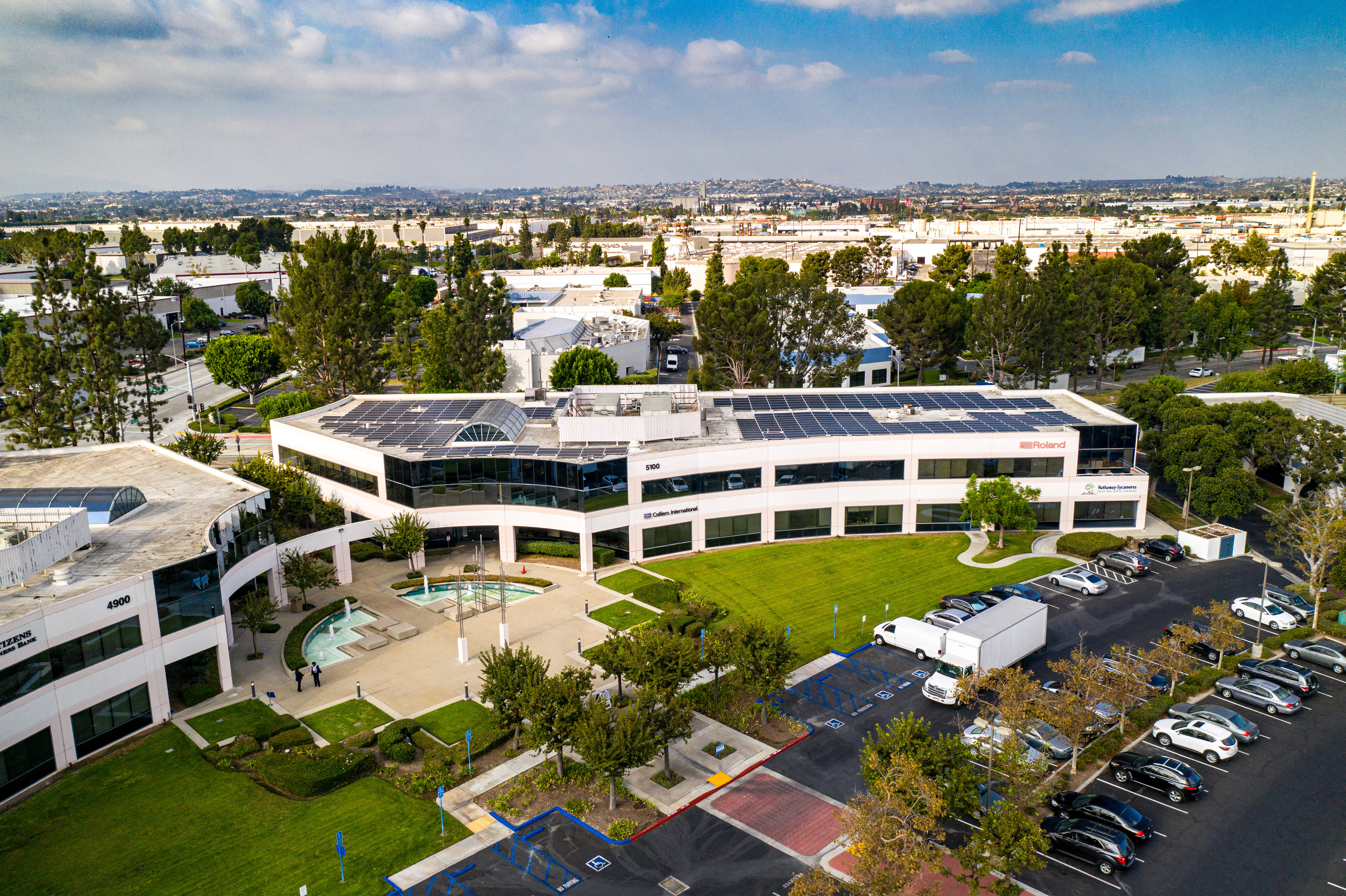 5100 S. Eastern Ave Commerce CA Office building for sale